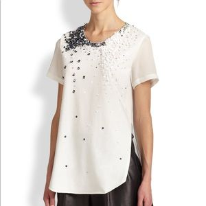 3.1 Philip Lim Sequin detail blouse